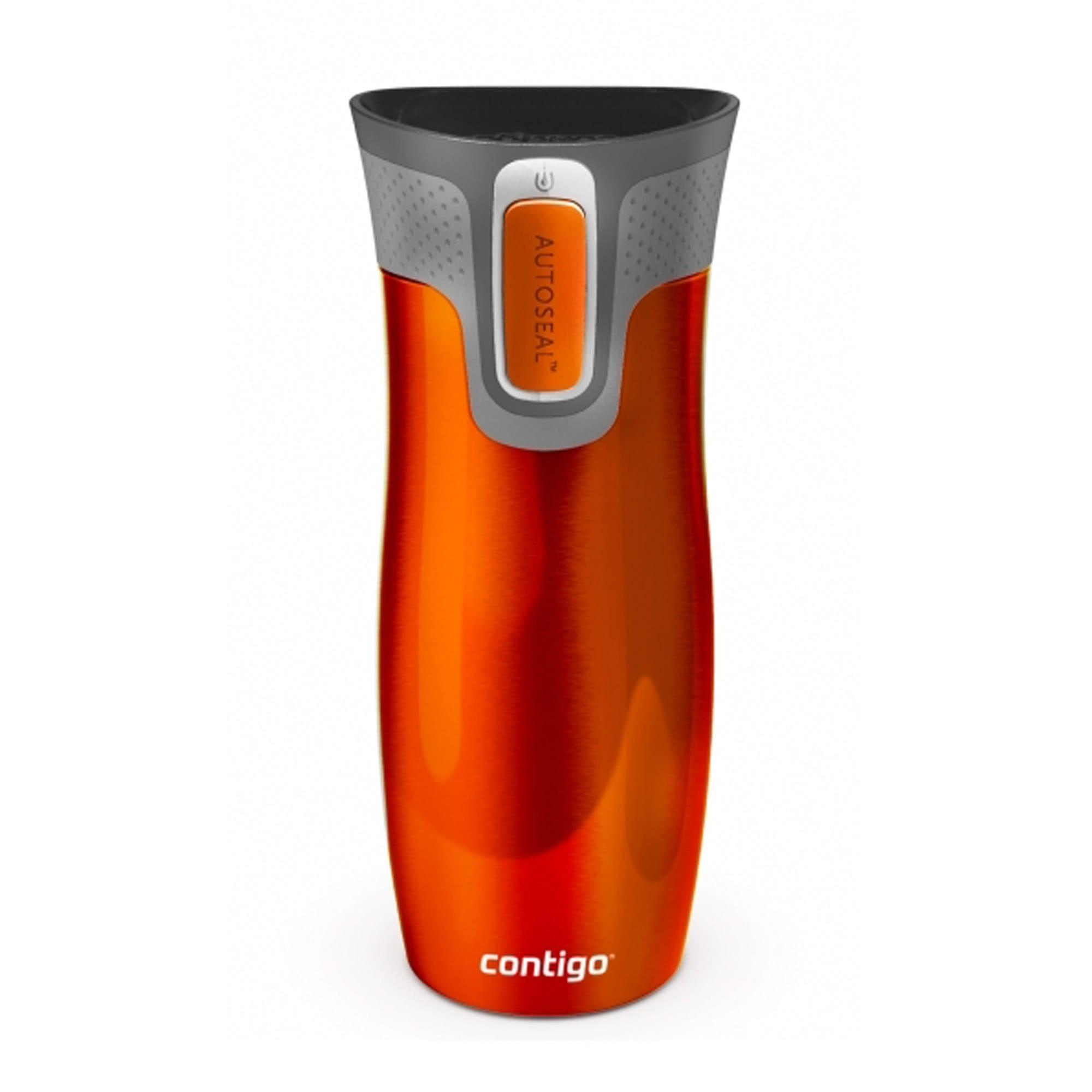 trinkflasche thermo orange. Black Bedroom Furniture Sets. Home Design Ideas