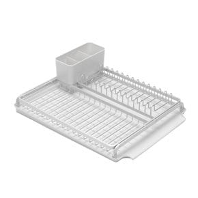 Draining rack large silver
