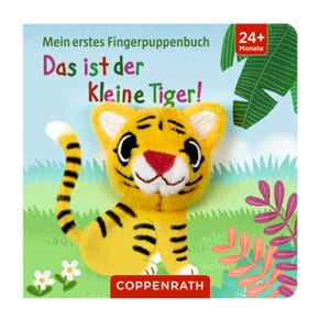Fingerbuch Tiger