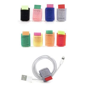 Cable Binder colored 8 pcs.