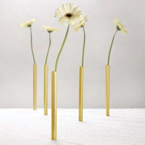 Vase set magnetic gold 5 pcs.