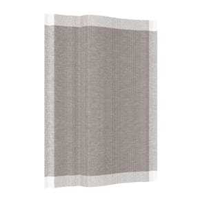 Kitchen towel, fine taupe stripes
