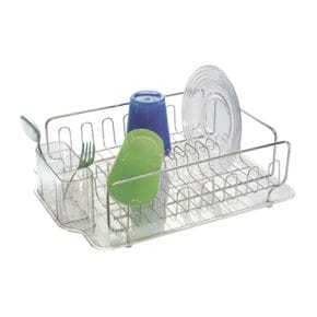 Drip rack with acrylic tray