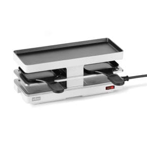 Raclette Twin Basis weiss
