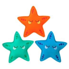 Diving game starfish set of 3