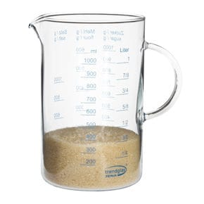 Measuring cup glass 1.0 lt