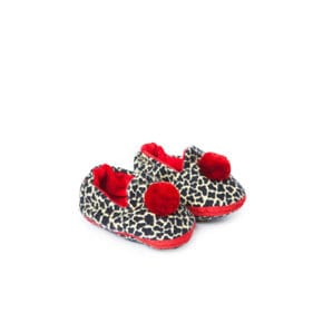 Tiger Baby Slippers rot 