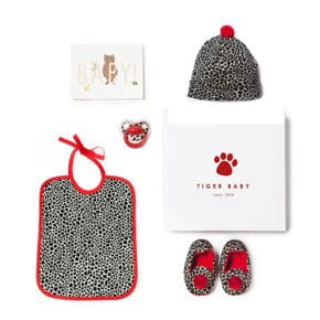 Tiger Babybox 4tlg rot 0-6 Monate