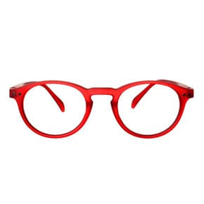Reading glasses Model A red cristal