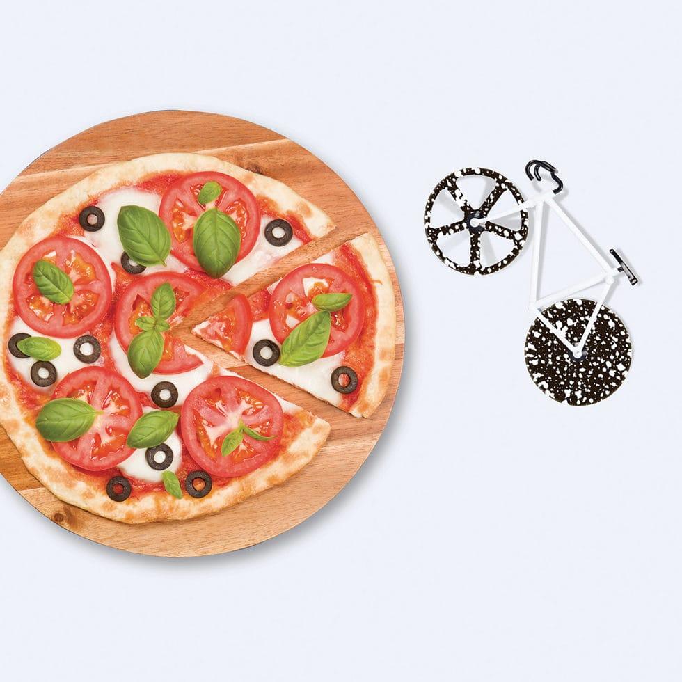 Pizzaschneider Velo Schwarzweiss